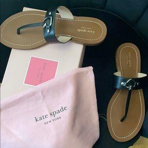 Kate spade thong sandal 10